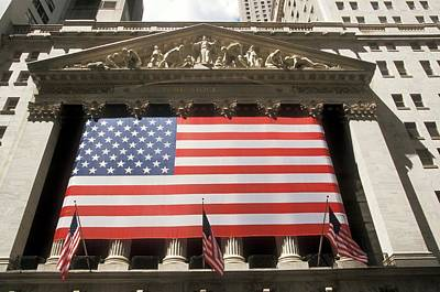 New York Stock Exchange Photograph - New York Stock Exchange by Jim West