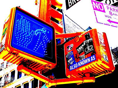 Mess Photograph - New York Street Mess by Funkpix Photo Hunter