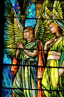 Religious Angel Art Photograph - New York, Troy St Paul's Episcopal by Cindy Miller Hopkins