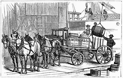 New York Wine Industry Print by Granger