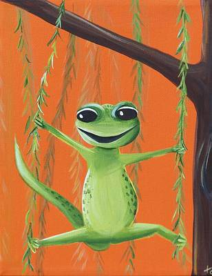 Newts Painting - Newman by Tracie Davis