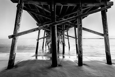 Whalen Photograph - Newport Beach Black And White Series 29 by Josh Whalen