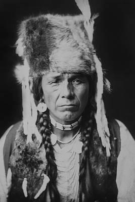 Nez Perce Indian Circa 1904 Print by Aged Pixel