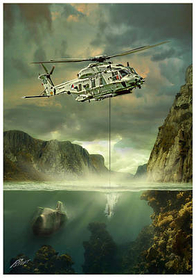 Nh90nfh Print by Peter Van Stigt