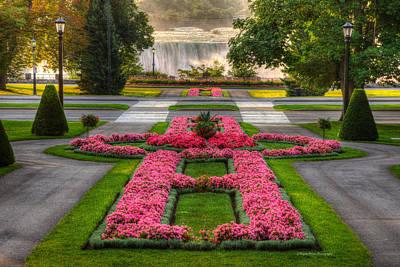 Niagara Falls Botanical Gardens Ontario Canada Print by Wayne Moran