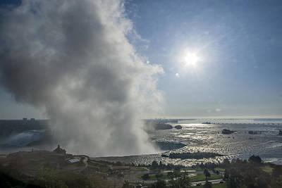 Igor Baranov Photograph - Niagara Falls Early In The Morning by Igor Baranov