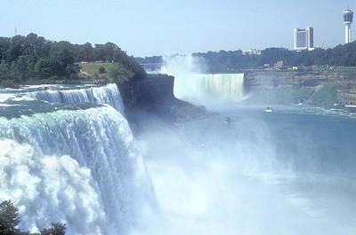Rage Photograph - Niagara Falls - New York by Mike McGlothlen