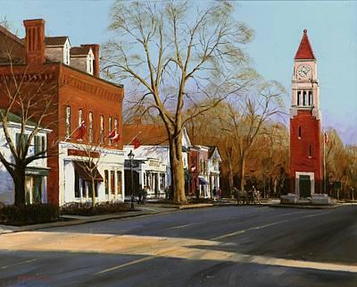 Michael Swanson Painting - Niagara On The Lake by Michael Swanson