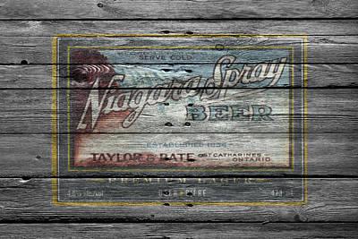 Handcrafted Photograph - Niagara Spray Beer by Joe Hamilton