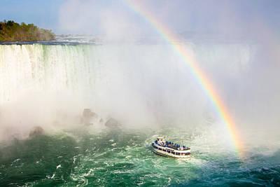 Niagara's Maid Of The Mist Original by Adam Pender