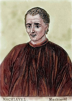 Realism Photograph - Niccolo Machiavelli (florence by Prisma Archivo