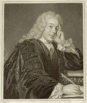 Nicholas Hardinge Print by Middle Temple Library
