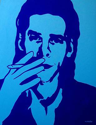 Warhol Painting - Nick Cave by John  Nolan