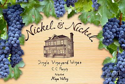Napa Photograph - Nickel And Nickel by Jon Neidert