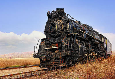 Abandoned Photograph - Nickel Plate #763 Berkshire by Marcia Colelli