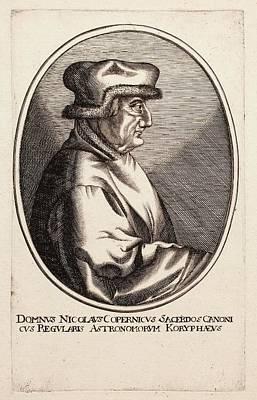Nicolaus Copernicus Print by Paul D Stewart