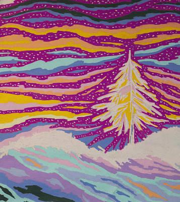 Night Divine Print by Mike Manzi