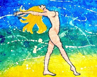 Night Goddess Original by Martha Kuper Brinson