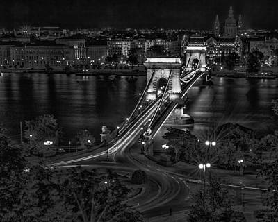 Budapest Hungary Photograph - Night In Budapest by Mountain Dreams