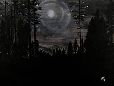 Night Print by Katy  Scott