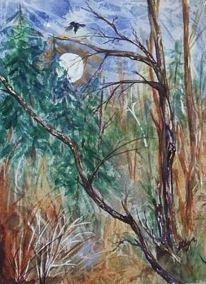 Night Magic Print by Ellen Levinson