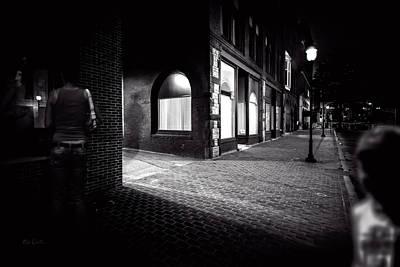 Night People Main Street Print by Bob Orsillo