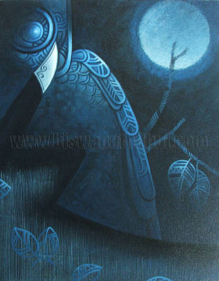 Nightwatch Painting - Night Watch by Biswanath  Dhul