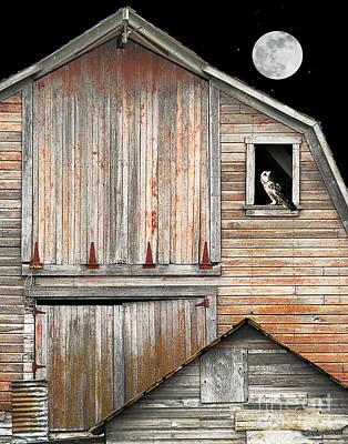 Judy Wood Digital Art - Night Watch by Judy Wood
