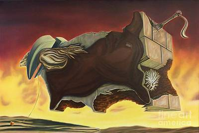 Nightmare Of An Over-inflated Workhorse Original by Mack Galixtar