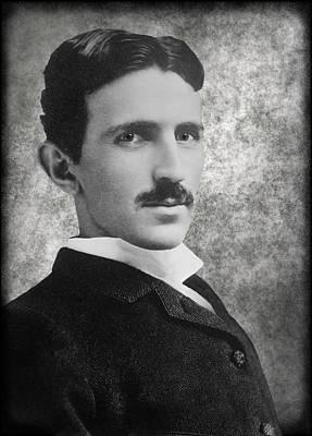 Tesla Photograph - Nikola Tesla by Daniel Hagerman