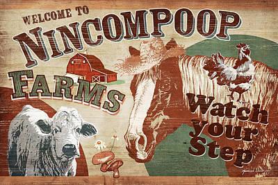 Nincompoop Farms Print by JQ Licensing