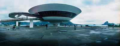 Oscar Photograph - Niteroi Contemporary Art Museum by Panoramic Images