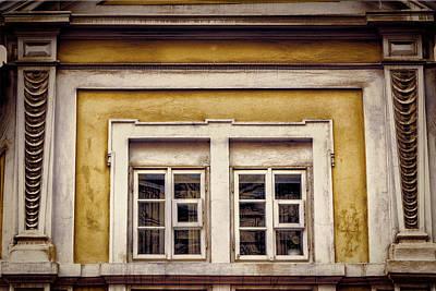 Czech Republic Photograph - Nitty Gritty Window by Joan Carroll