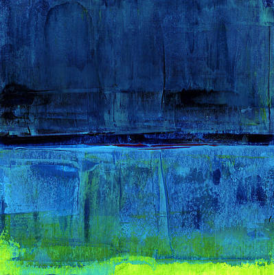 Abstract Seascape Painting - No. 226 by Diana Ludet