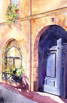 Ressler Painting - No. 7,  Street Of The Royal Redistributor by John Ressler