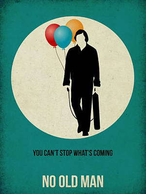 No Country For Old Man Poster 2 Print by Naxart Studio