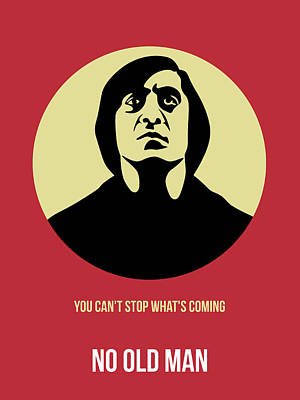 No Country For Old Man Poster 3 Print by Naxart Studio
