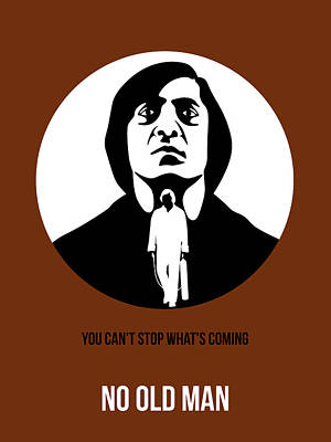 No Country For Old Man Poster 4 Print by Naxart Studio