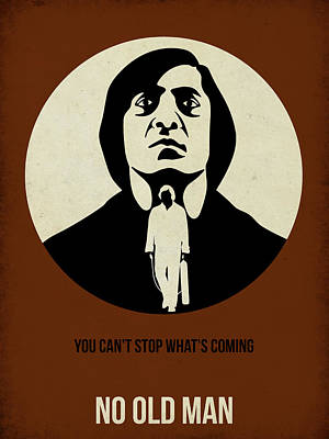 No Country For Old Man Poster Print by Naxart Studio