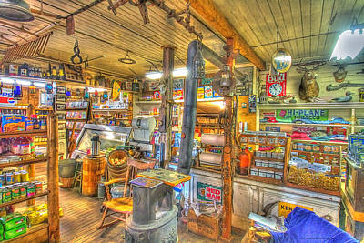 Vermont Country Store Photograph -  No Lattes Or Wi Fi Here  by Constantine Gregory