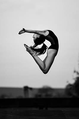 Athlete Photograph - No Limits by Martin Krystynek