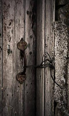 Liz Alderdice Photograph - No Lock by Liz  Alderdice