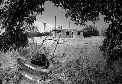 City Photograph - No More Chores Bw by Scott Campbell