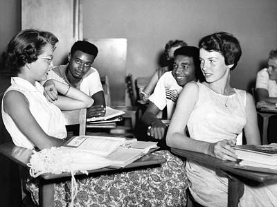 Integrated Photograph - No Segregation Here by Underwood Archives