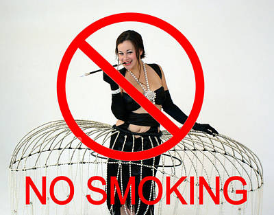 No Smoking Print by Don McCunn