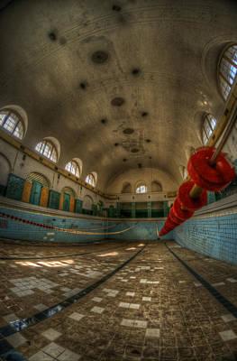Soviets Digital Art - No Swimming  by Nathan Wright