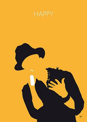 No034 My Pharrell Williams Minimal Music Poster Print by Chungkong Art