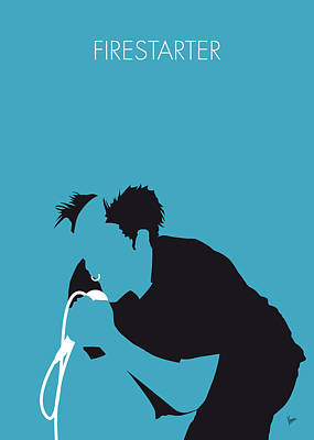 Ideas Digital Art - No045 My The Prodigy Minimal Music Poster by Chungkong Art