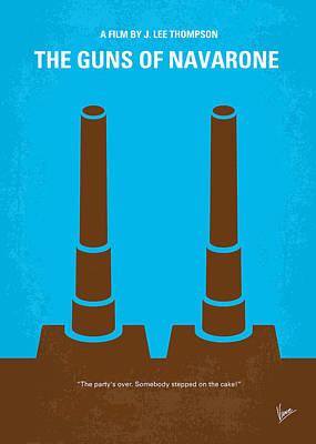 Greek Digital Art - No168 My The Guns Of Navarone Minimal Movie Poster by Chungkong Art