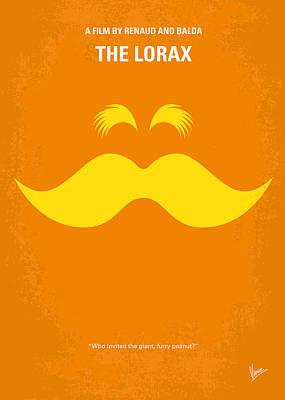 No261 My The Lorax Minimal Movie Poster Print by Chungkong Art